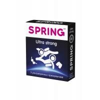 Презервативы SPRING ULTRA STRONG - ультра прочные 3шт