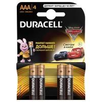 Мизинчиковые батарейки типа ААА Duracell LR03 New 4 шт