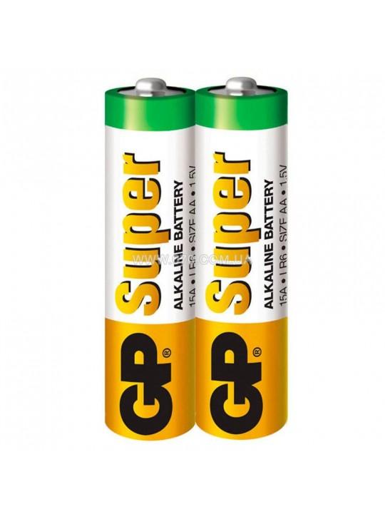 Пальчиковые Батарейки АА GP Super LR6 2ШТ