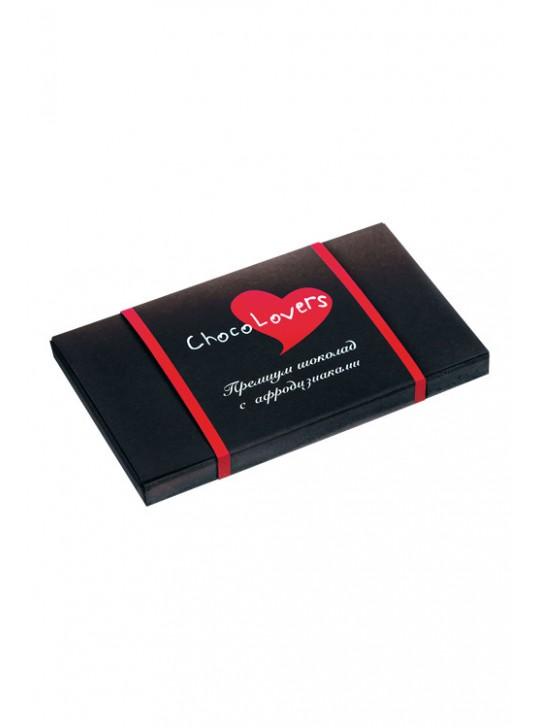 Шоколад с афродизиаками ChocoLovers 20 гр.