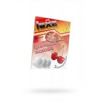 Презервативы Luxe КОНВЕРТ, Красноголовый мексиканец, вишня, 18 см, 3 шт