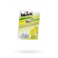 Презервативы Luxe КОНВЕРТ, Золотой кадиллак, лимон, 18 см, 3 шт