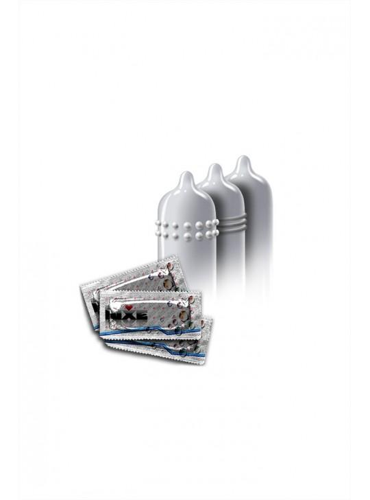 Презервативы Luxe КОНВЕРТ, Сексреаниматор, абрикос, 18 см, 3 шт