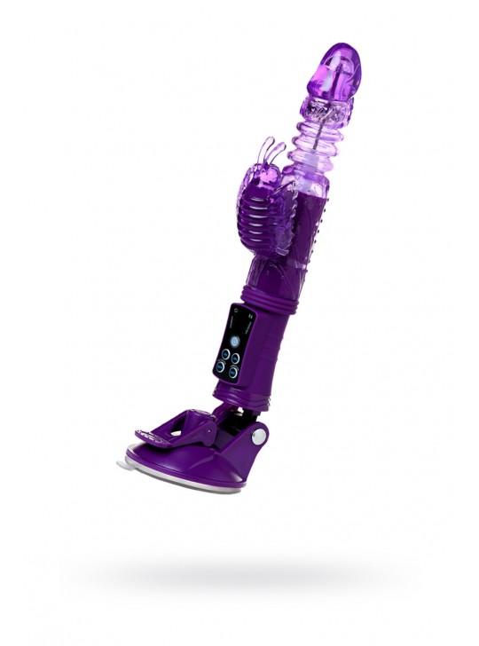 Вибратор-ротатор с клиторальным стимулятором TOYFA A-Toys High-Tech fantasy 23 См