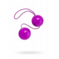 Вагинальные шарики TOYFA, ABS пластик, фиолетовые, Ø3 см