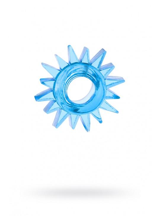 Кольцо гелевое синее №2